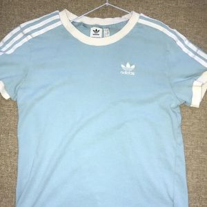 Baby Blue Adidas T-Shirt